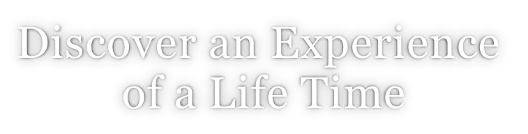 Discover an Experience  of a Life Time